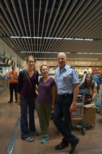 With Dirk, Brussels Airport Security Officer